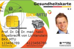 Gesundheitskarte BKK MTU