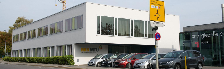 BKK MTU Gebäude von Außen