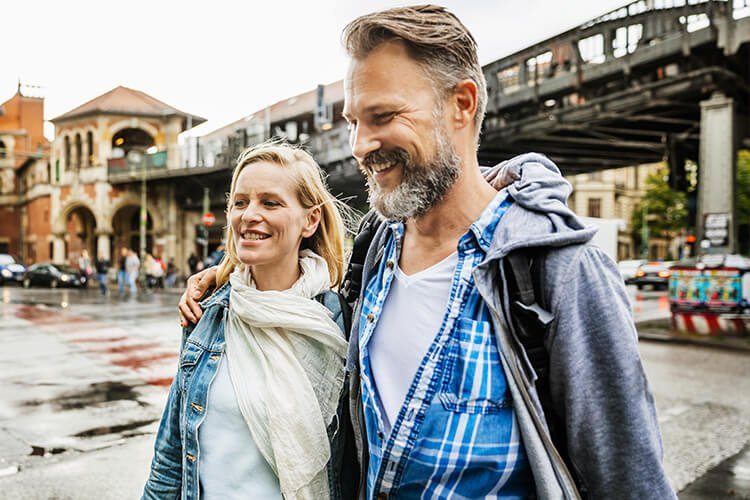 couple arrived in capital city of Germany
